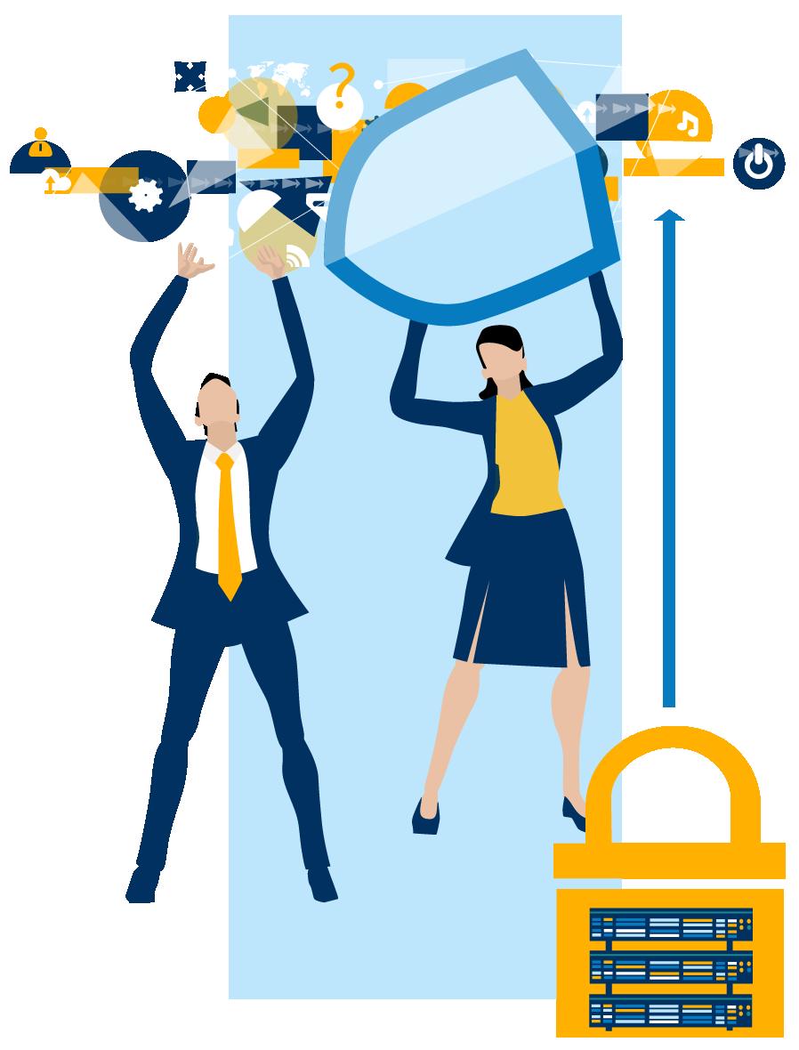 Datenschutz, Maßnahmen zur IT Sicherheit und DSGVO, Schutz und Wahrung von Geschäftsgeheimnissen.