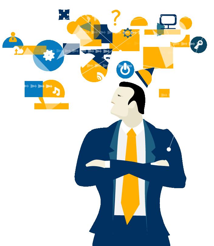 Die Visualisierung von Unternehmensprozessen hilft Ihnen Schwachstellen aufzudecken.